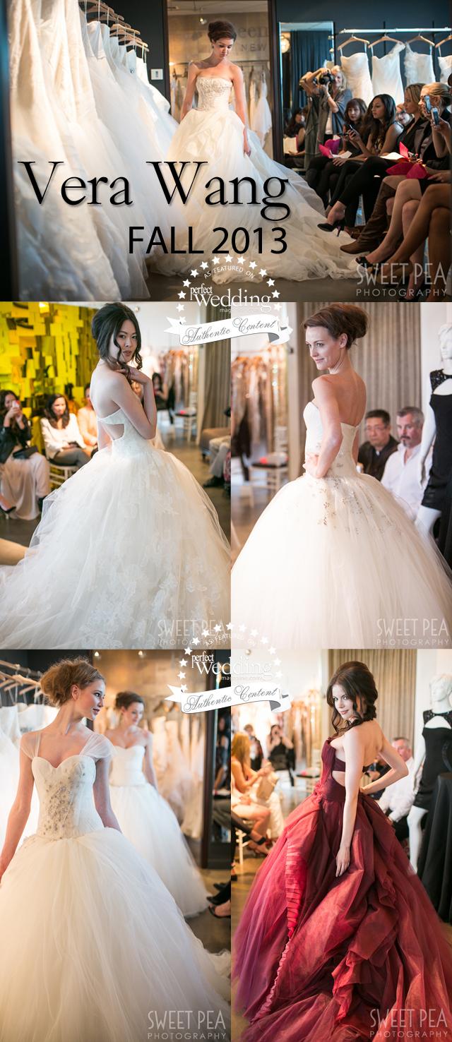 Vera Wang at Blush Bridal in Perfect Wedding Magazine