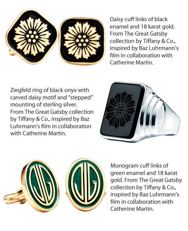 The Great Gatsby collection by Tiffany & Co. in Perfect Wedding Magazine