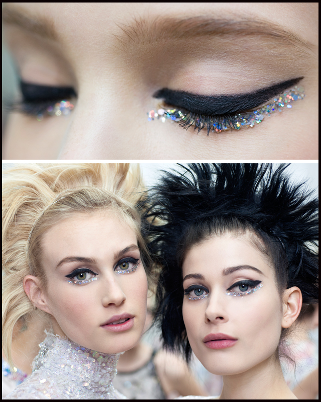 Chanel, Chanel Beauty, Haute Couture 2014 collection, backstage, perfect wedding magazine