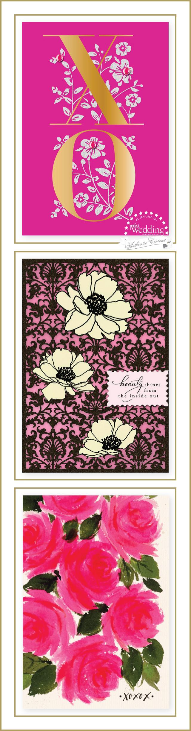 Sarah Jessica Parker Stationery, Hallmark, Perfect Wedding Magazine, Wedding Stationery