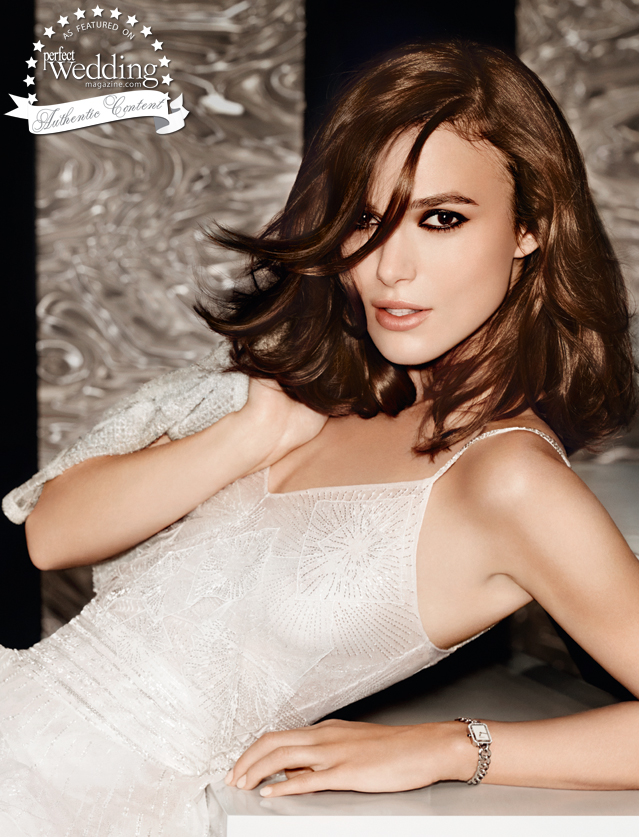 Chanel, Chanel Coco Madeimoiselle, Perfect Wedding Magazine, Perfect Wedding magazine blog, Keira Knightly, Mario Testino
