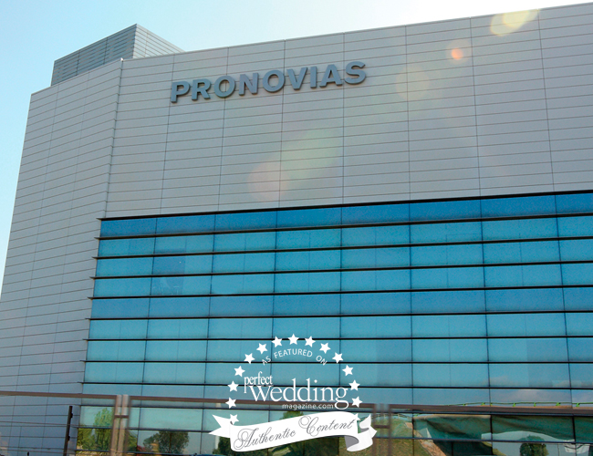 Pronovias factory in Barcelona Spain