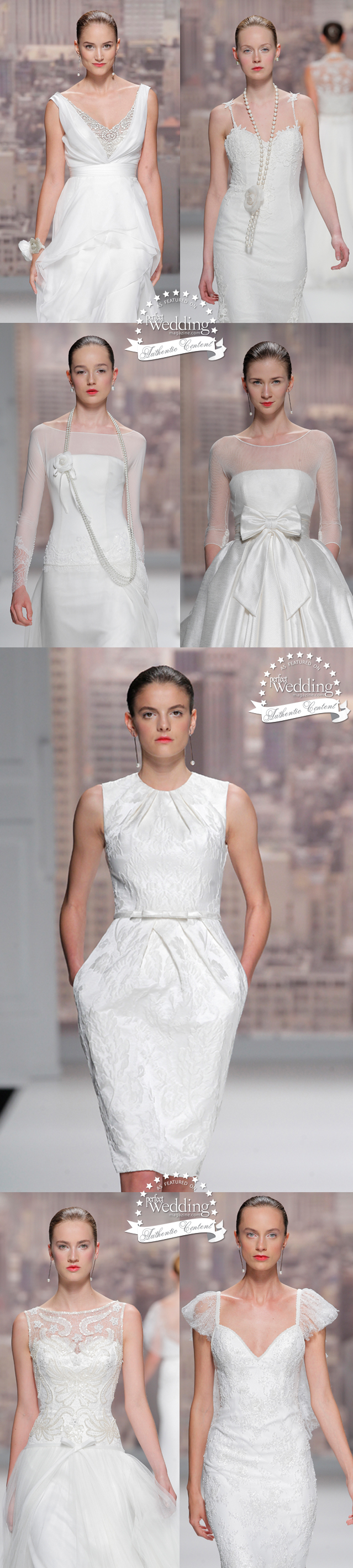 Rosa Clara, Barcelina Bridal Week, 2015 Bridal collections, Perfect Wedding Magazine, Perfect Wedding Blog