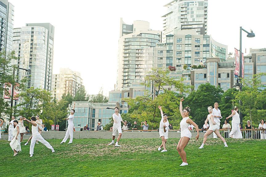 Diner En Blanc, David Lam Park, Vancouver