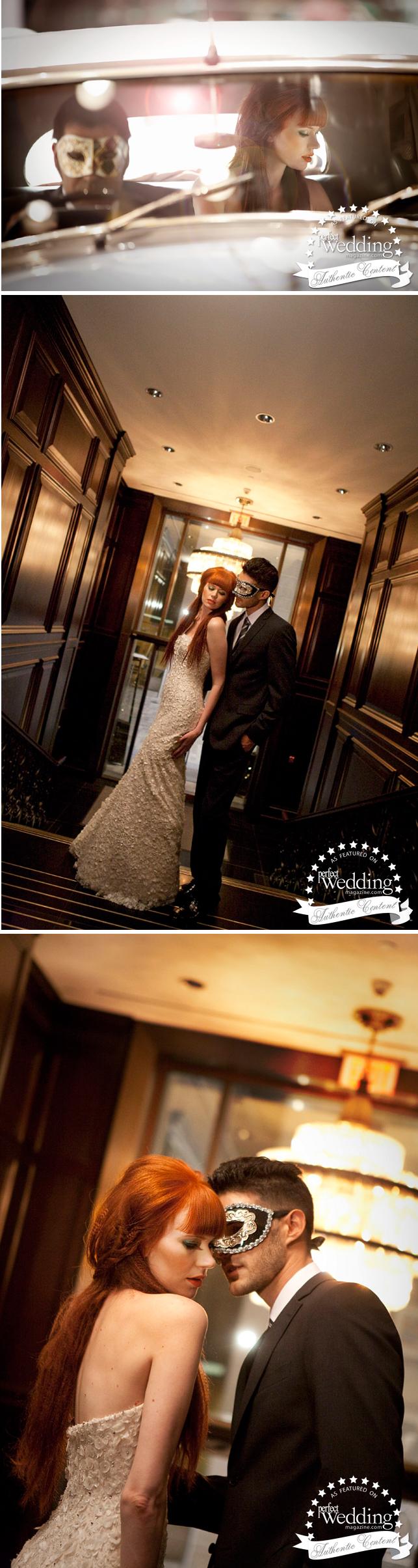 Halloween Wedding, Wedding Inspiration, Bridal Trends, Halloween Bridal Theme, Rosewood Hotel Georgia, Perfect Wedding Magazine, Perfect Wedding Magazine Blog, Vera Wang Bridal, Halloween Bridal Makeup, Romona Keveza