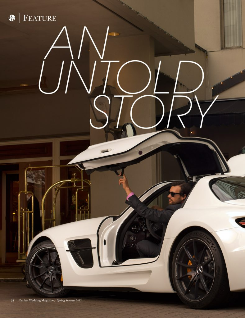Title Page - AN UNTOLD STORY - Perfect Wedding Magazine