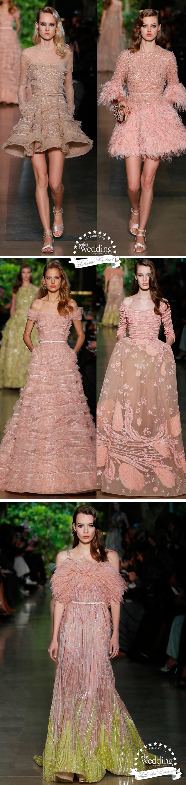 Elie Saab, Elie Saab Haute Couture, Elie Saab Spring Summer 2015 Haute Couture, Perfect Wedding Magazine