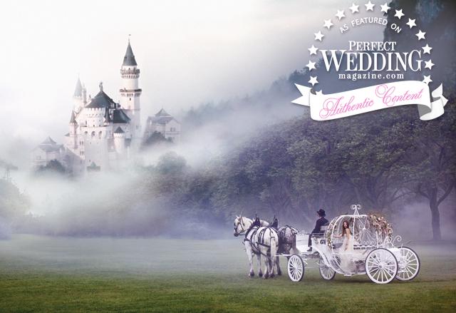 Fairytale Fantasy Castle+Carriage