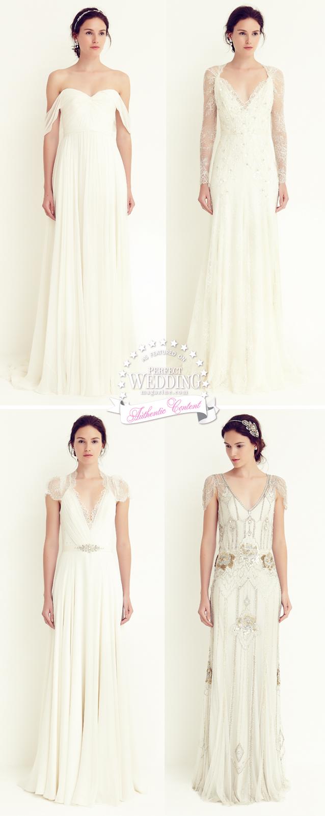 Jenny Packham, Jenny Packham Bridal, Jenny Packham Petite Collection, Perfect Wedding Magazine, Bridal Fashion