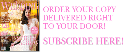 Subscribe to Perfect Wedding Magazine