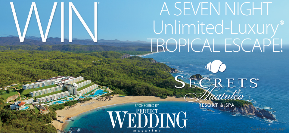Perfect Wedding Magazine's Luxury Travel Giveaway!