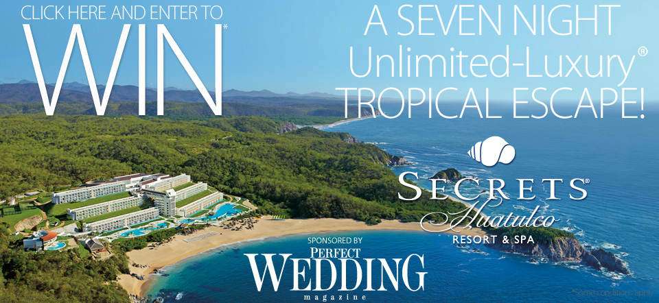 Win a honeymoon from Perfect Wedding Magazine