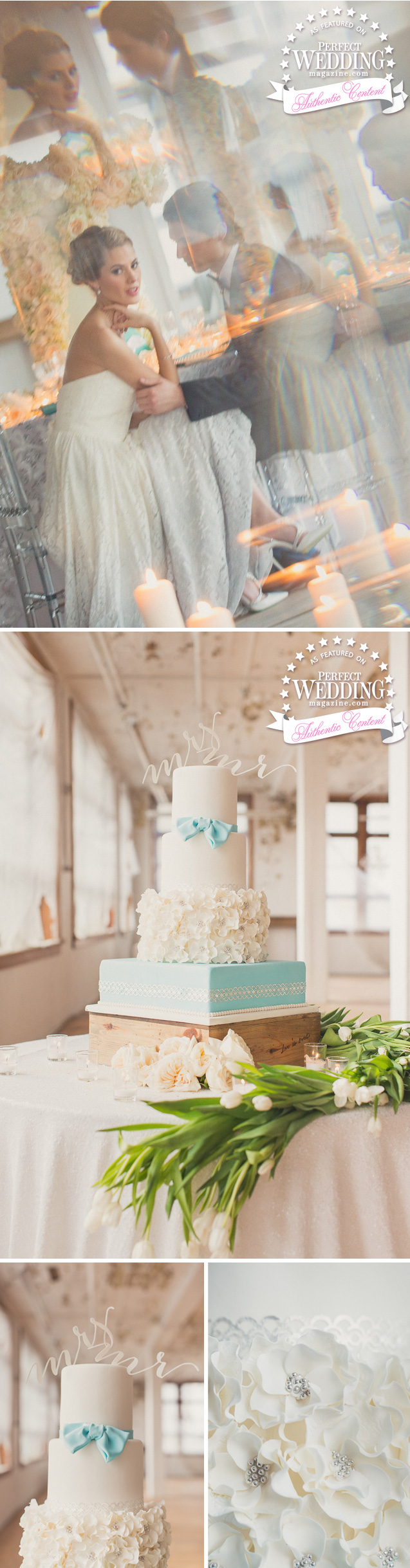 TIFFANY Inspired, Tiffany & Co., Wedding Décor, Cakes, Wedding Flowers, René Caovilla, Truvelle, Perfect Wedding Magazine, Tiffany & Co. Inspired Décor, Bridal Trends