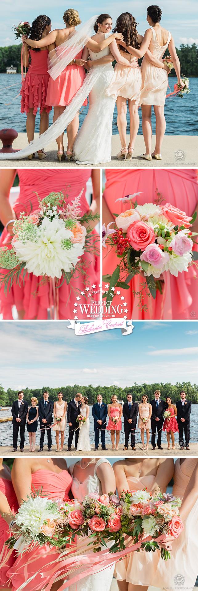 Canadian Summer Weddings, SUMMER WEDDING MUSKOKA,Summer weddings, Muskoka Weddings, Rowell Photo, Cottage Wedding, Wedding Decor, Bridal Flowers, Perfect Wedding Magazine, Perfect Wedding Blog
