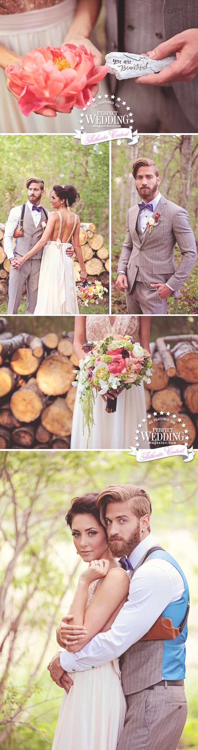 QUEEN OF THE FOREST, Wedding Decor, Perfect Wedding Magazine, Forest Decor Inspiration, Flowers, Wedding Cake, Bride in the Forest, Fashion, Bridal, Eternal Reflections Photography, JoyFoley Weddings, Fabloomosity, The Art of the Cake, Calgary Weddings, Kingdom Of Lovers