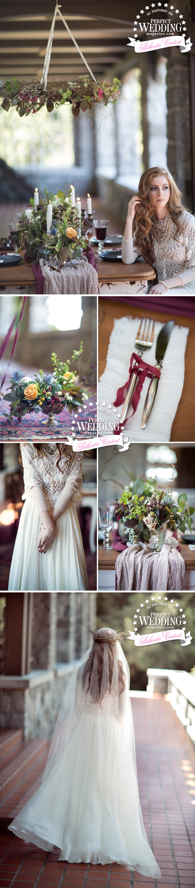 Solstice Covenant, celebrate a newness, Winter Solstice, Winter Wedding, Winter Decor, Winter Floral, Perfect Wedding Magazine, Kingdom of Lovers, Maru photography, Reem Acra, Blush Bridal, Winter Ideas for Wedding Decor