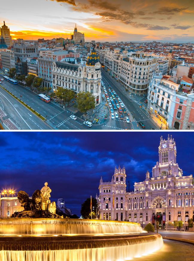 Luxury Travel, Europe, Madrid, Spain, Romance travel, Valentine's