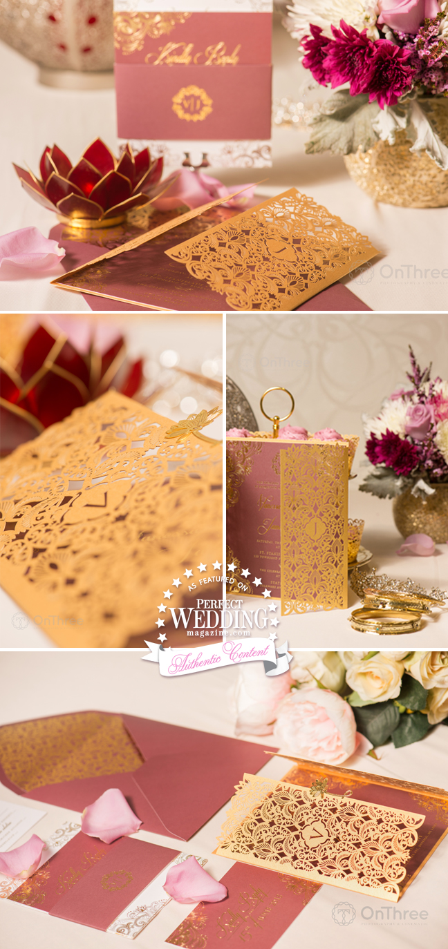 Vanessa Williams, Vanessa Williams Wedding Stationery, Vanessa Williams Wedding, Marsala, Egyptian Wedding, Perfect Wedding Blog