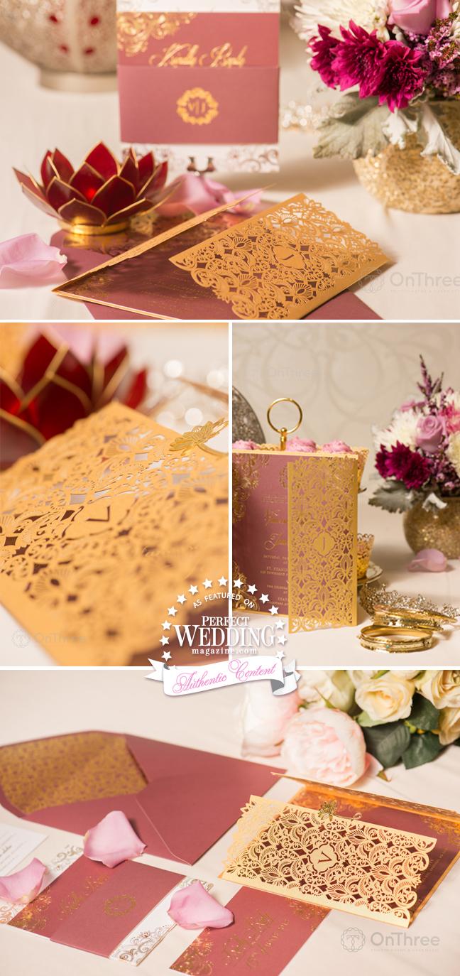 VANESSA WILLIAMS ~ WEDDING STATIONERY - Perfect Wedding Magazine