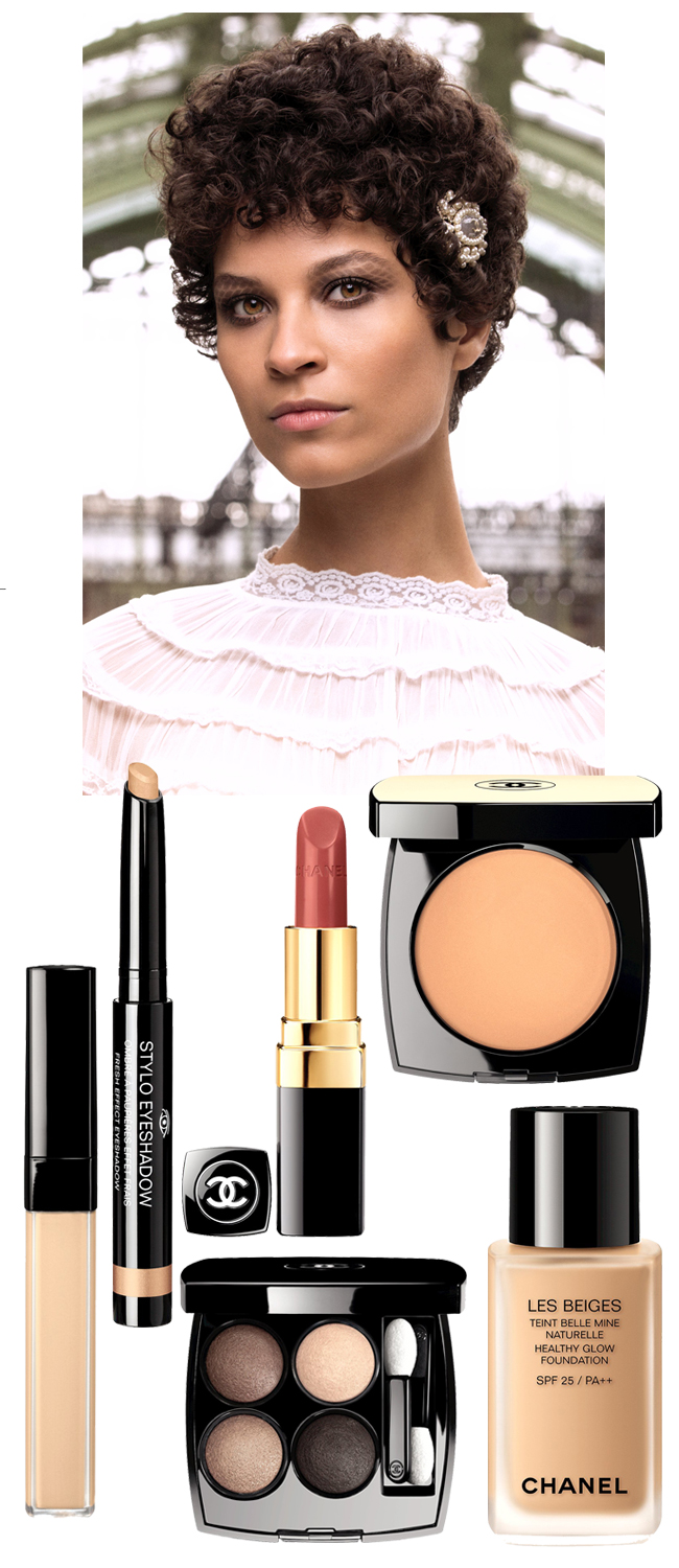 Chanel, Chanel RTW Fall 2016, Chanel Backstage, Chanel Beauty, Chanel Makeup, Fall Makeup Trends, Perfect Wedding Magazine, Perfect Wedding Blog