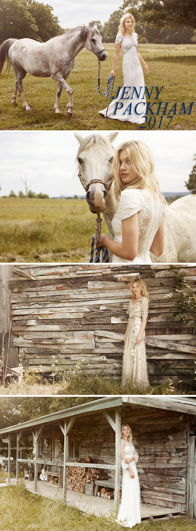 Perfect Wedding Magazine, Perfect Wedding Blog, Perfect Wedding Reports, Bridal Trends, 2017 Bridal Gowns, Caroline Corinth, Jane McLeish-Kelsey, Jenny Packham, Jenny Packham Bridal, Jenny Packham 2017 Bridal collection,