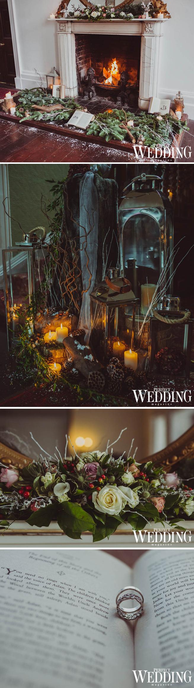 Winter Wedding, Winter Wedding Decor, Winter Floral Decor, UK Weddings, Tides Events, Perfect Wedding Magazine, Perfect Wedding Blog