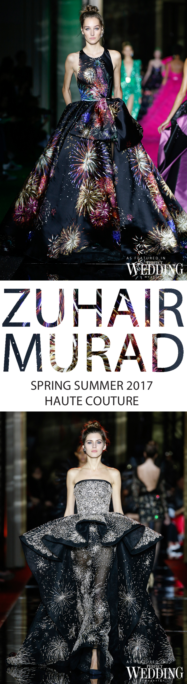 Zuhair Murad, Zuhair Murad Bride, Zuhair Murad Spring Summer 2017 Haute Couture, Paris Fashion Week, Couture Week, Perfect Wedding Magazine, Perfect Wedding Blog, Fires Waltz, Bridal Trends