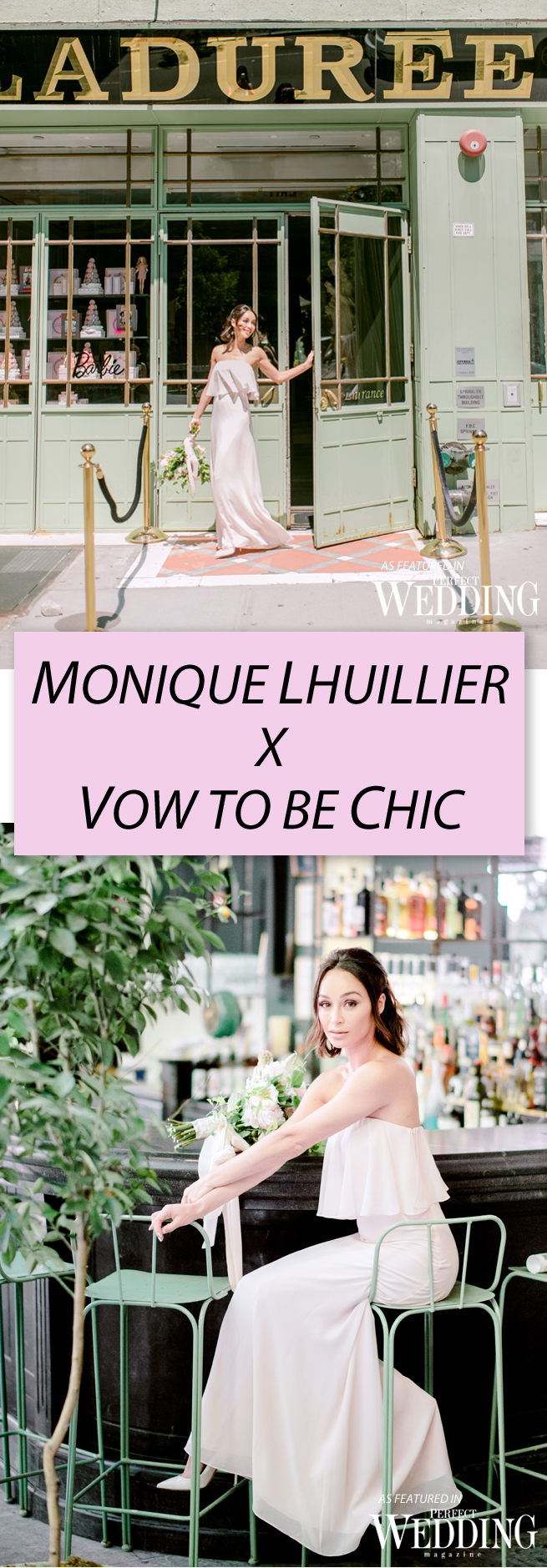 MONIQUE LHUILLIER x VOW TO BE CHIC ~ Bridesmaids Collection ...