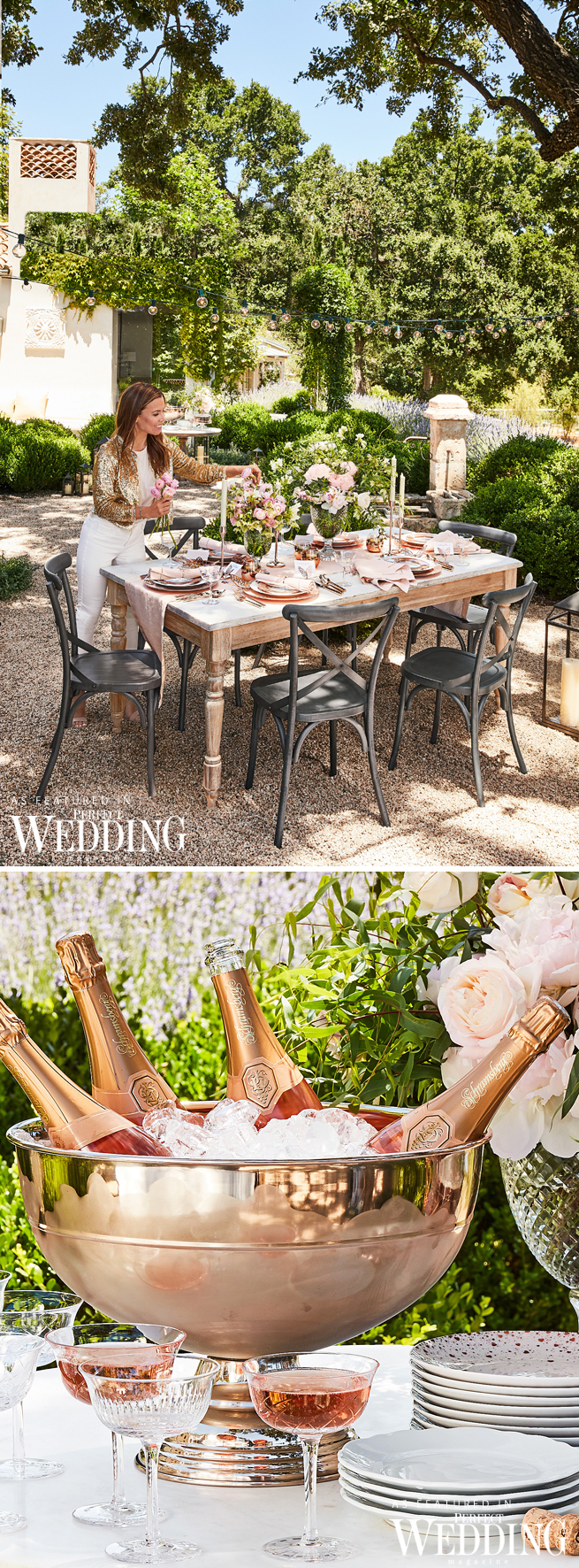 Bridal Registry, Monique Lhuillier, New York Bridal Market, Perfect Wedding Magazine, Perfect Wedding Blog, Monique Lhuillier for Pottery Barn, Wedding Registry