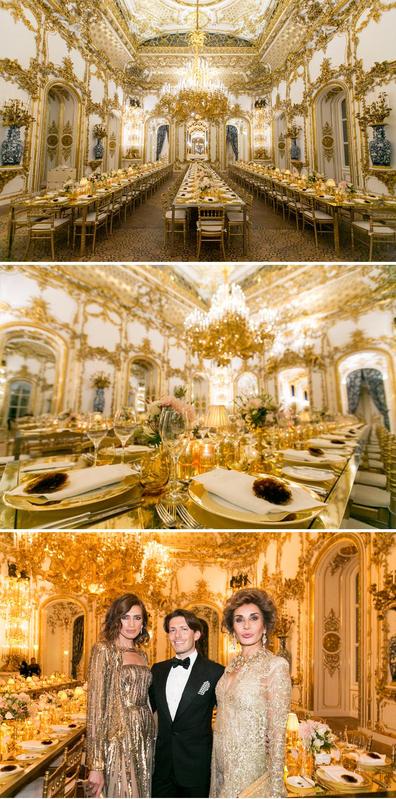 Aquazzura, Aquazzura X Mytheresa.com, Vienna, Woman in Gold, Liechtenstein Palace, Gold Wedding Decor Inspiration, Perfect Wedding Magazine, Perfect Wedding Blog