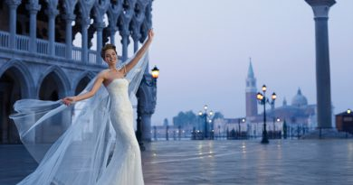 Pronovias 2013 Ad Campaign shot in Venice