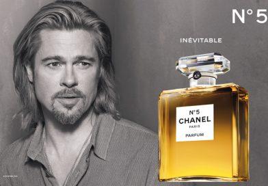 Brad Pitt for Chanel No.5