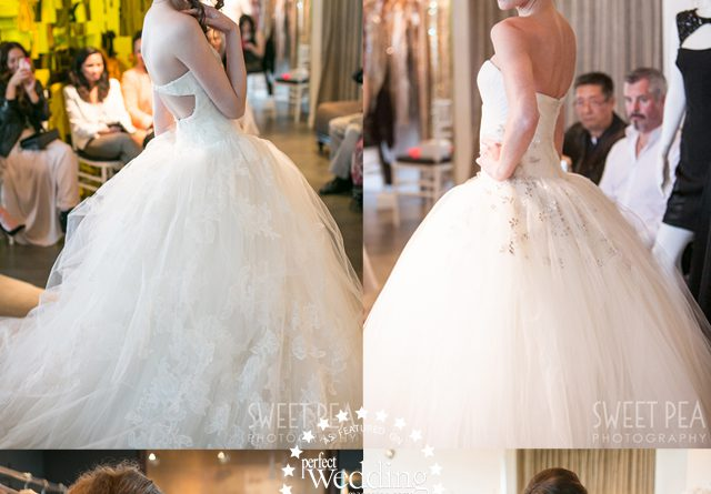 Vera Wang at Blush Bridal in Perfect Wedding Magazine