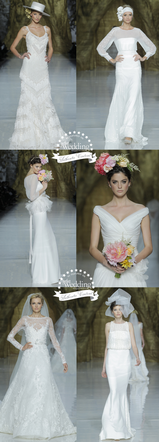 Pronovoas 2014 Collection in Barcelona, Perfect Wedding Magazine