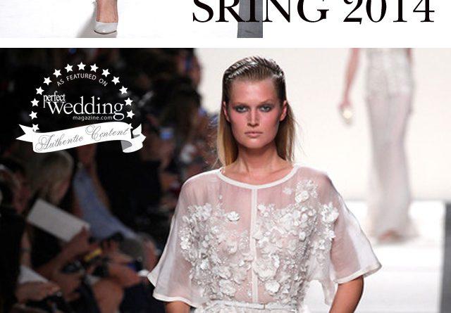 Elie Saab RTW Spring 2014, Perfect Wedding Magazine blog, Lace Gowns