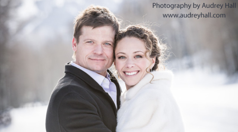 Bailey Chase, Bailey Chase's wedding, Perfect Wedding magazine, Winter wedding