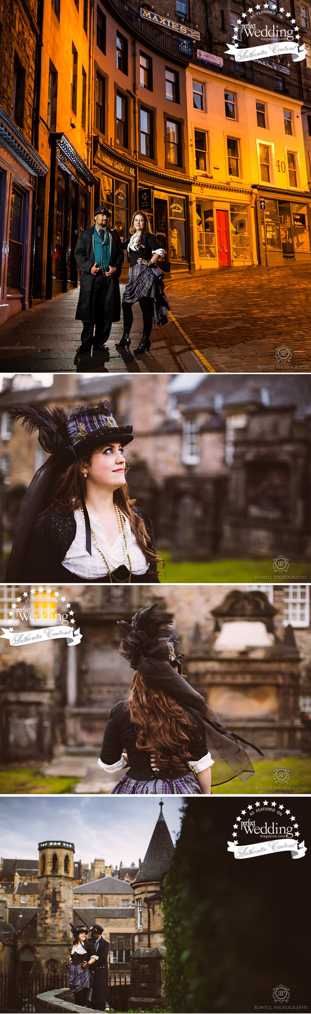 Scotland Anniversary Wedding Portrait, Rowell Photo, Perfect Wedding magazine, Scotland