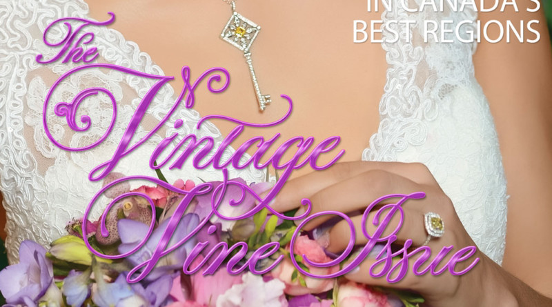 Perfect Wedding Magazine cover The Vintage Vine Issue