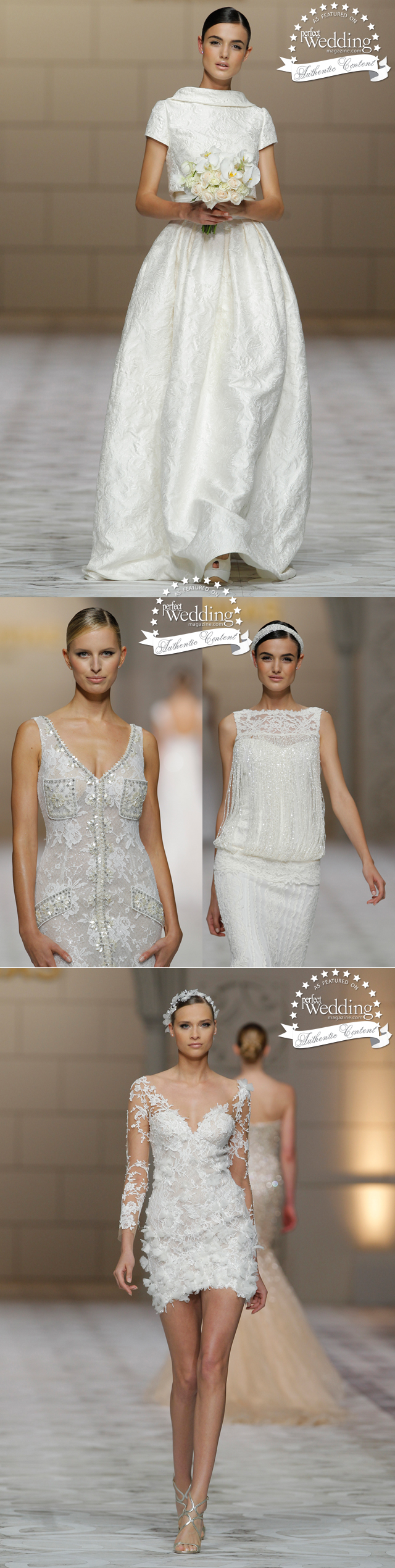 Pronovias, Pronovias 2015 collection, Atelier Pronovias 2015 collection, Perfect Wedding Magazine
