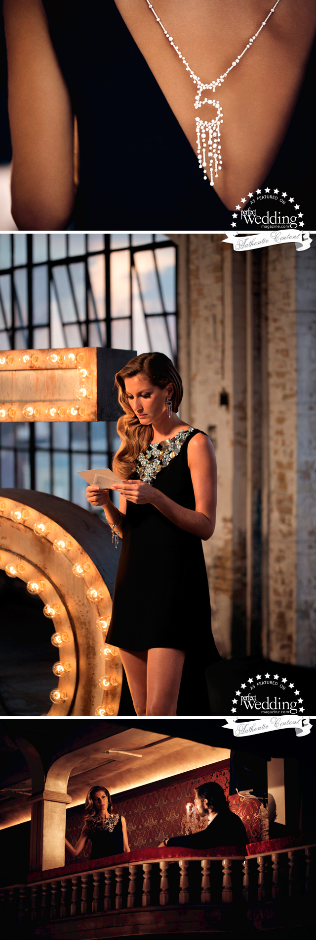 Chanel, Chanel No. 5, The One That I Want, Perfect Wedding Magazine, Gisele Bündchen