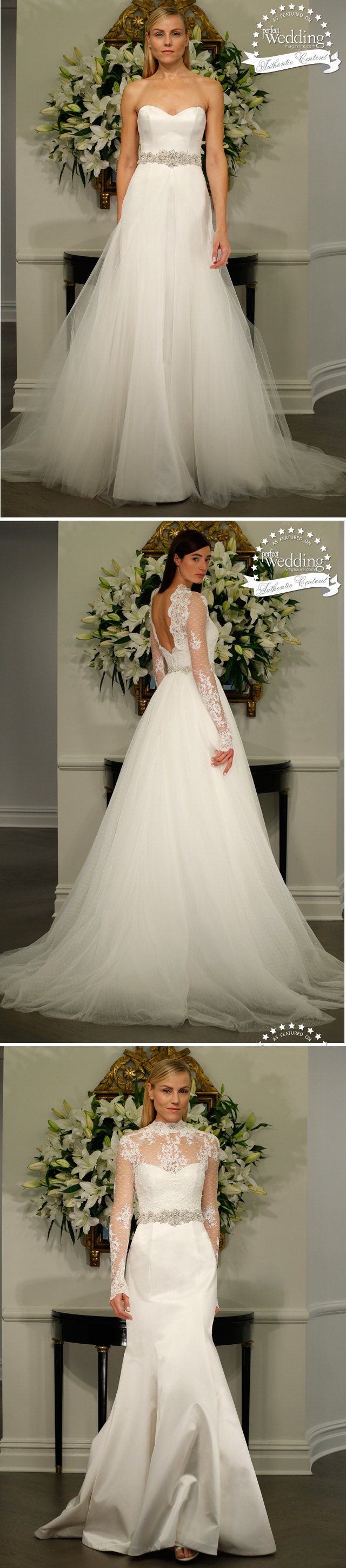Legends Romona Keveza, Fall 2015 Bridal collection, Perfect Wedding Magazine, Fall Bridal Trends