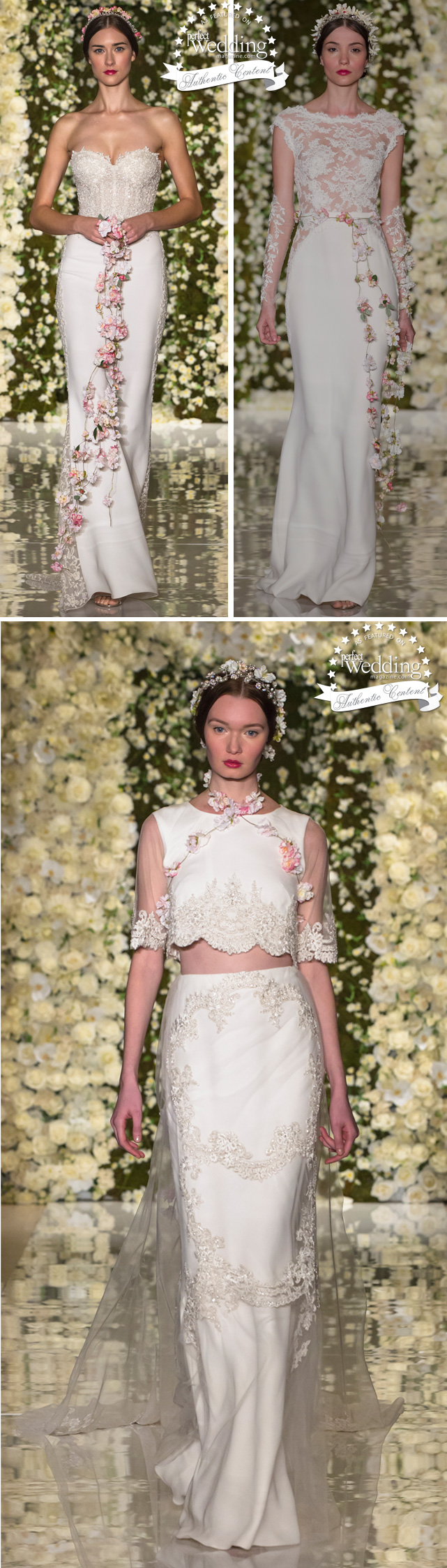 Reem Acra, Bridal, Fall 2015, NY Bridal Week, Perfect Wedding Magazine