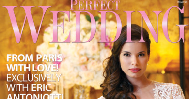 Perfect Wedding Magazine cover Inspired by Fashion