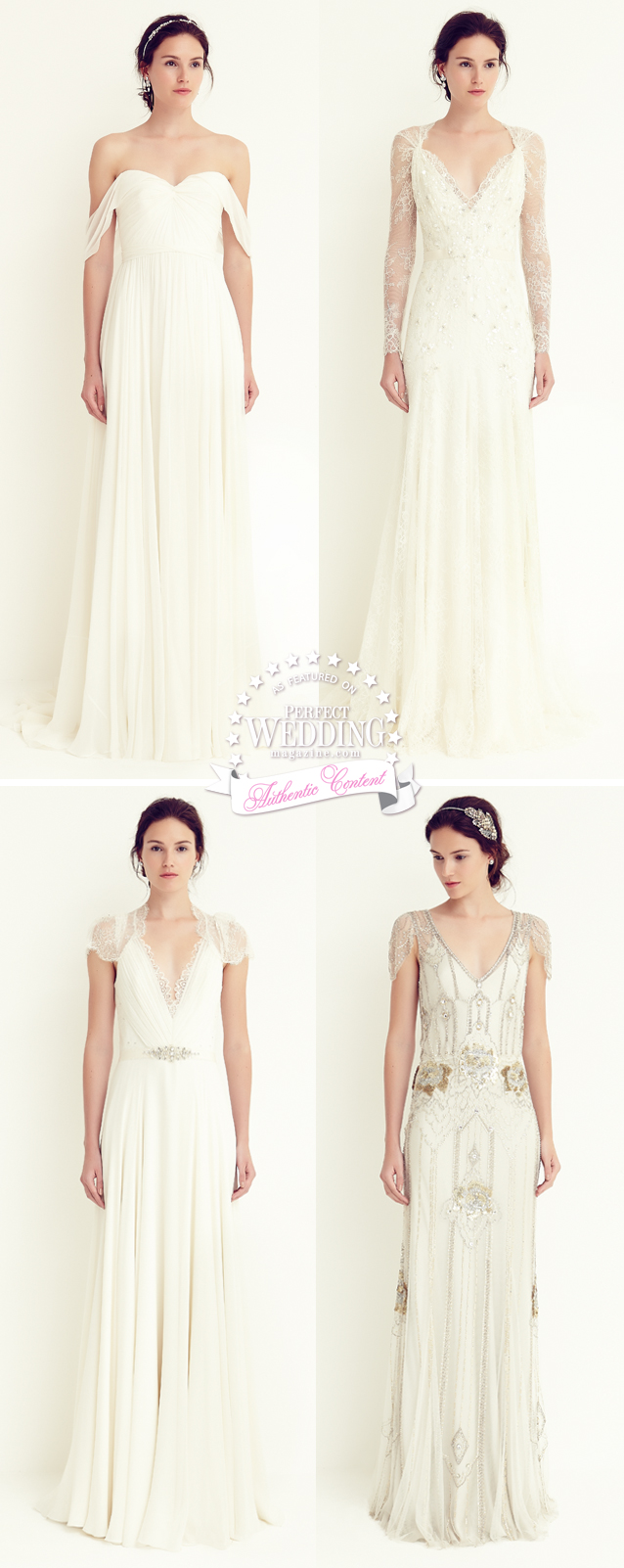 Jenny Packham, Jenny Packham Bridal, Jenny Packham Petite Collection, Perfect Wedding Magazine, Bridal Fashion