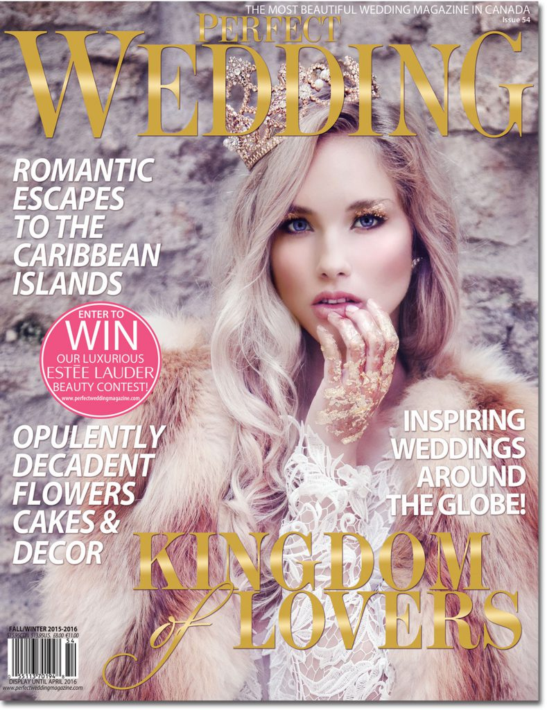 Perfect Wedding Magazine's Kingdom of Lovers Fall/Winter 2015-2016
