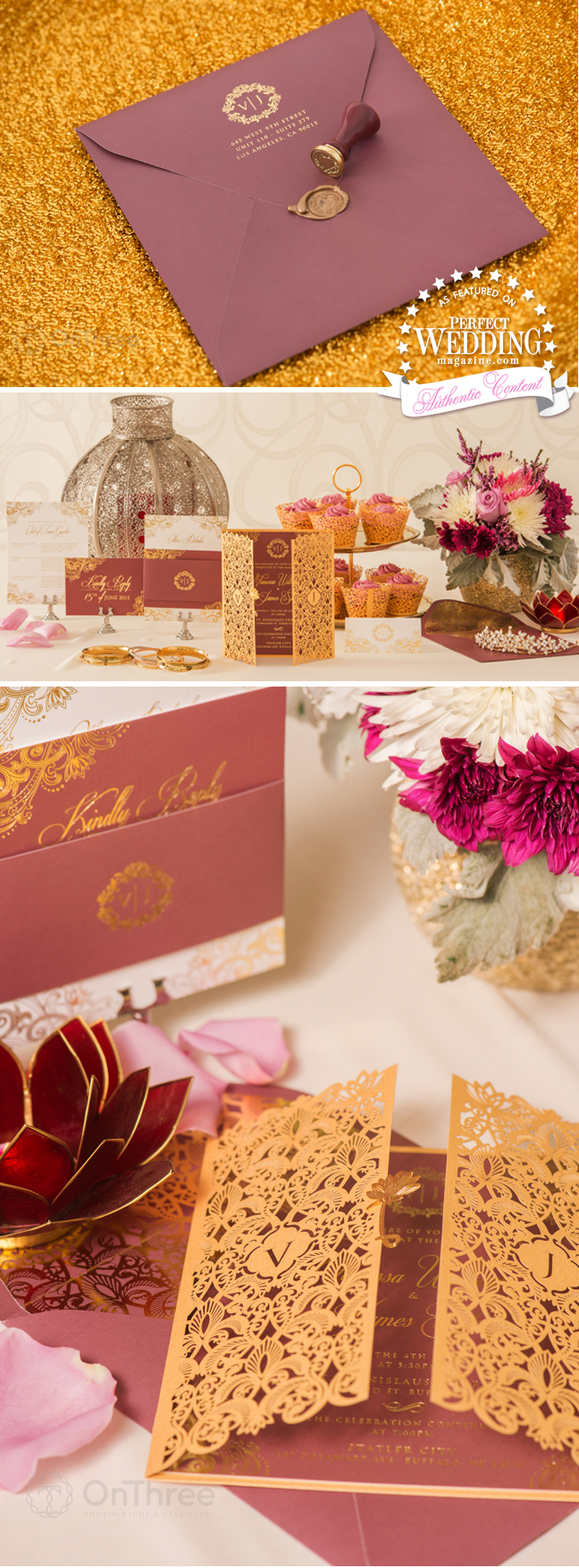 Vanessa Williams, Vanessa Williams Wedding Stationery, Vanessa Williams Wedding, Marsala, Egyptian Wedding, Perfect Wedding Blog