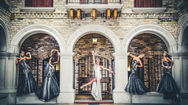 To The Pointe, Ballerina, Bride Ballerina, Tara-Brigette Bhavnani, Studio60, Style Shoot, Bridal Shoot, Perfect Wedding Magazine, Anniversary Issue, BLOSSOMING, Perfect Wedding Blog, Ines Di Santo, Hacienda Sarria