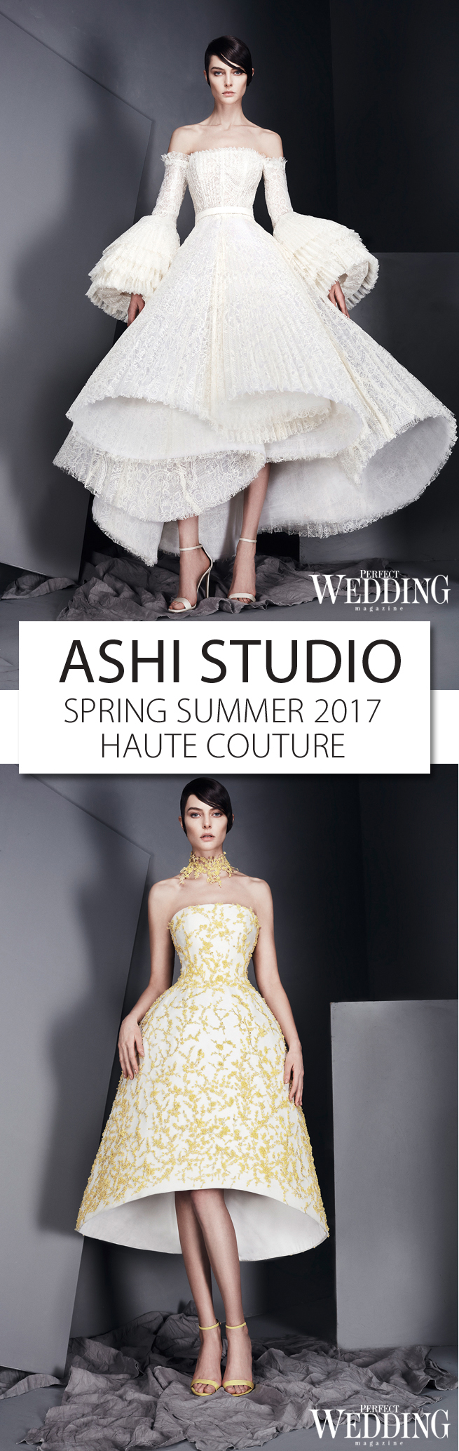 Ashi Studio, Whispers, Haute Couture, Spring Summer 2017, Bridal, Perfect Wedding Magazine, Perfect Wedding Blog, Bridal Trends 2017