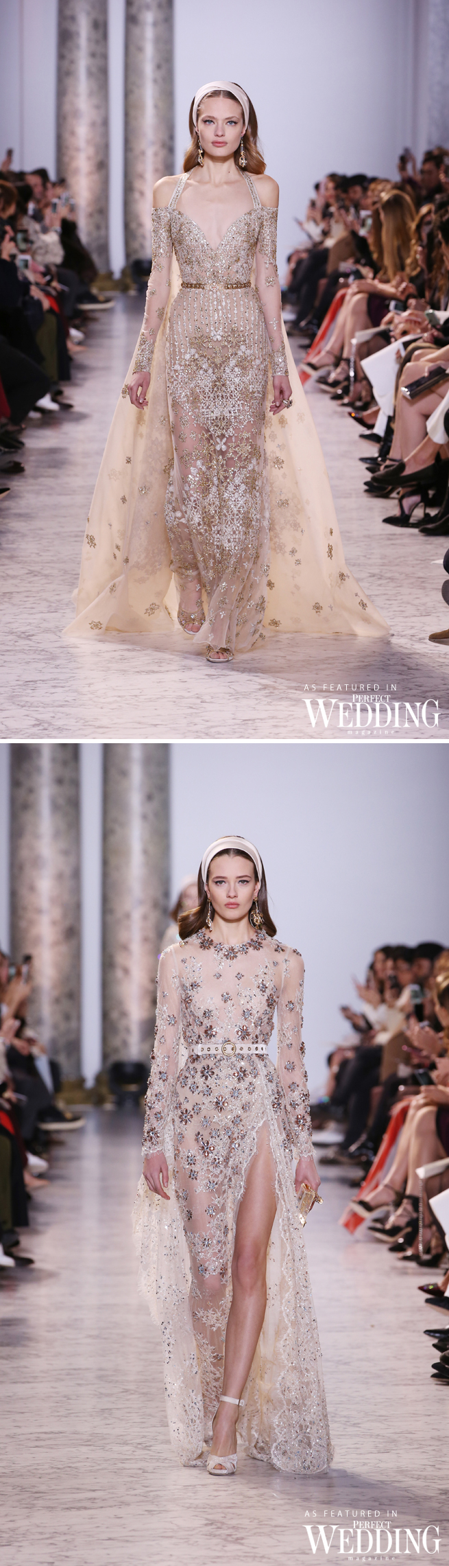 Elie Saab, Elie Saab Haute couture, The Birth Of Light, Elie Saab Spring Summer 2017, Perfect Wedding Magazine, Perfect Wedding Blog