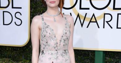 Golden Globes, Tiffany & Co., Emma Stone, Natalie Portman, Naomi Harris,